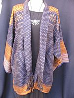 Thai ikat jacket XL