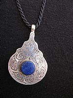 Photo of our Afghan Lapis Teardrop