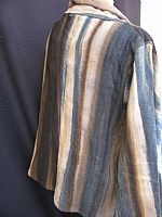 Photo 6 of our Natural dyed bamboo fibre jacket