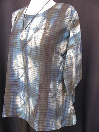 Photo of our Natural dye tie dye tunic