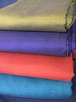 Photo link to Plain Hand loomed Fabrics