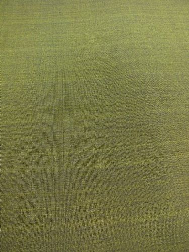 Photo of our Plain hand loomed fabric - Olive Green