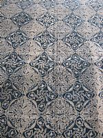Vintage Javanese Batik Flowered Diamond Design