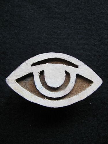 Photo of our Eye printing block