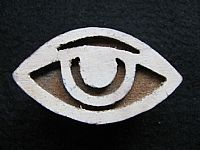 Photo 2 of our Eye printing block