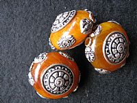 Photo 1 of our Afghan amber bead
