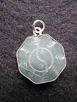 Photo of our Jade yin yang pendant