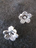 Photo 3 of our Silver flower studs