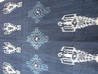 Photo 3 of our Indigo ikat from Sumba