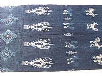 Photo 4 of our Indigo ikat from Sumba
