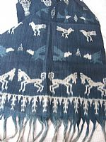 Photo 5 of our Indigo ikat from Sumba