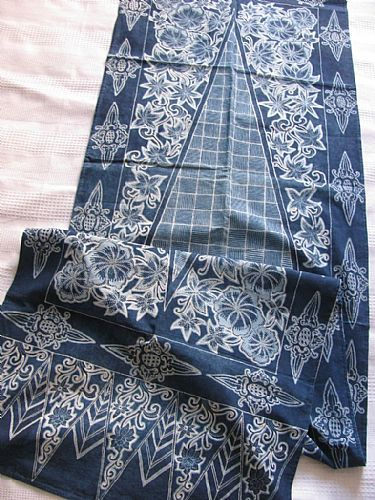 Photo of our Indigo Bali batik