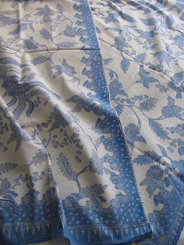 Photo of our Lasem Blue and White Batik