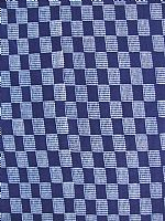 Cotton Indigo Print. Little squares design