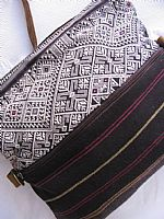 Handwoven Laos Shoulder Bag