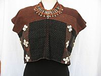 Photo 3 of our Kachin beaded tunic