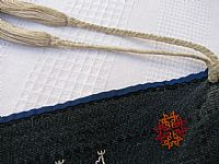 Photo 7 of our Yao embroidered headcloth