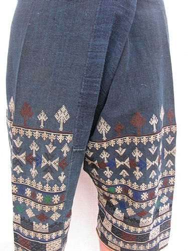 Photo of our Yao embroidered trousers