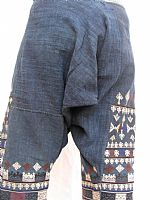 Photo 10 of our Yao embroidered trousers