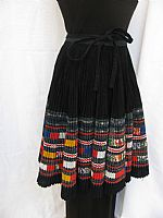 Photo 6 of our Embellished H'mong woman's skirt