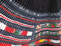 Photo 7 of our Embellished H'mong woman's skirt