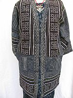 Jacket with Miao batik and embroidery