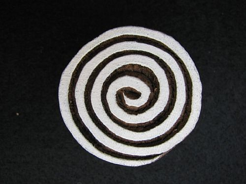 Photo of our Little spiral printing block