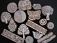 Photo link to Wooden Printing Blocks