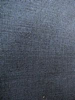 Indigo hand woven cotton - medium weight
