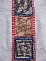 Photo 1 of our Embroidered strap with maze designs