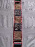 Photo 3 of our Embroidered strap with maze designs
