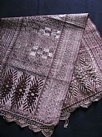 Photo 12 of our Sumatran gold songket