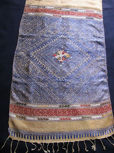 Photo of our Laos brocade wallhanging