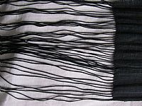 Photo 6 of our Black H'mong embroidered fringed sash