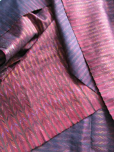 Photo of our Thai silk ikat