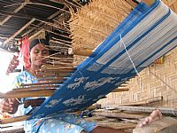 Photo 11 of our Ikat and songket weaving Sumba