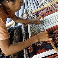 Photo 12 of our Ikat and songket weaving Sumba