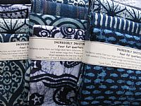 Photo 4 of our Incredibly Inviting Indigo 4 fat quarters