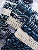 Incredibly Inviting Indigo 4 fat quarters
