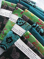 Photo 4 of our Gorgeous Greens 4 fat quarters