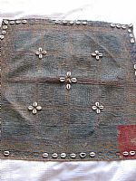 Photo 7 of our Banjara embroidery with cowrie shells