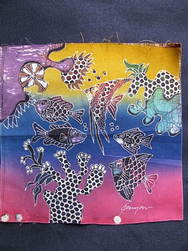 Photo of our Under The Sea Batik