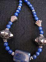 Photo 3 of our Lapis necklace