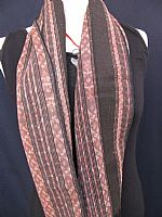 Photo 1 of our Soft vintage ikat scarf