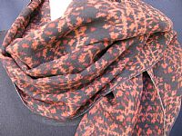 Photo 3 of our Soft vintage ikat scarf