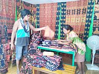 Photo 5 of our Patola flowers Sumba ikat