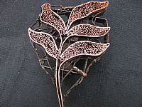 Photo 2 of our Speckled leaf copper stamp