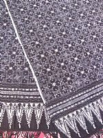 Photo 2 of our Deep indigo blue traditional batik