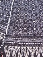 Photo 5 of our Deep indigo blue traditional batik