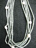 Photo of our Five strand serpentine necklace